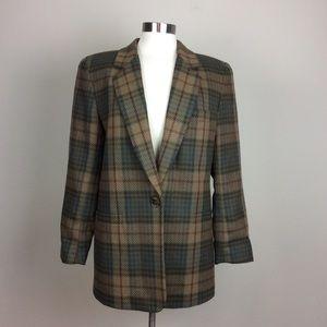 🇺🇸Vintage JH Collectibles plaid blazer